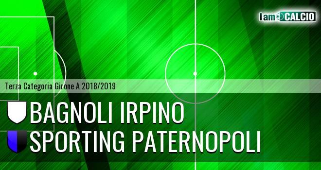 Bagnoli Irpino - Sporting Paternopoli
