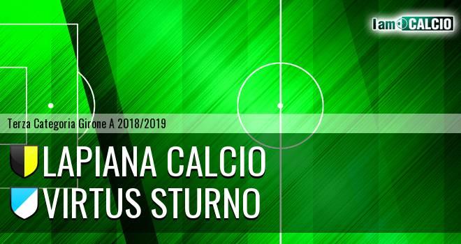 Lapiana Calcio - Virtus Sturno