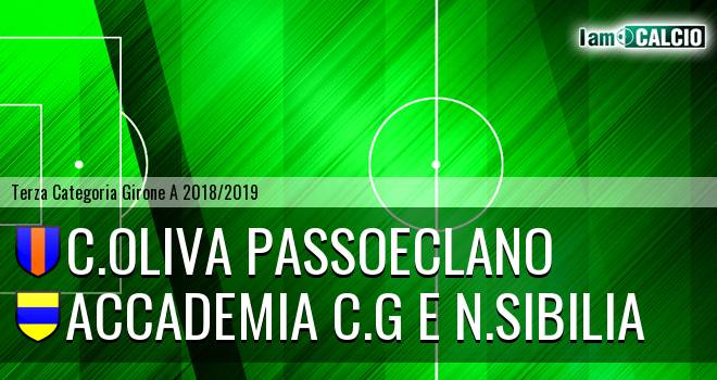 C.Oliva Passoeclano - Accademia C.G e N.Sibilia