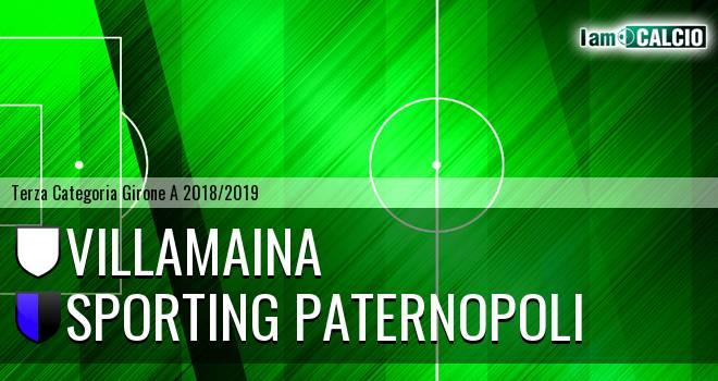 Villamaina - Sporting Paternopoli