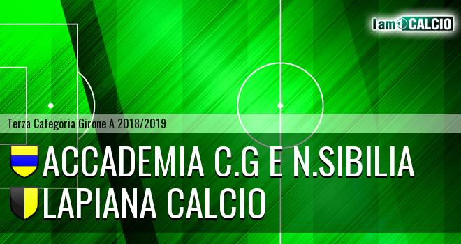 Accademia C.G e N.Sibilia - Lapiana Calcio