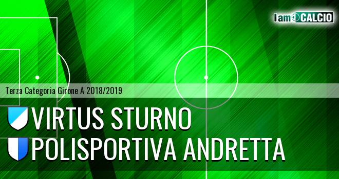 Virtus Sturno - Polisportiva Andretta
