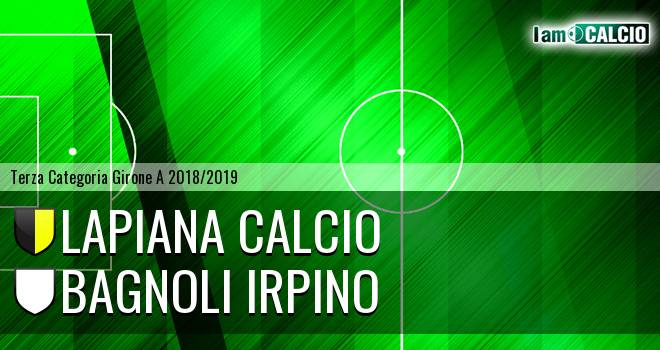 Lapiana Calcio - Bagnoli Irpino