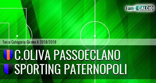 C.Oliva Passoeclano - Sporting Paternopoli
