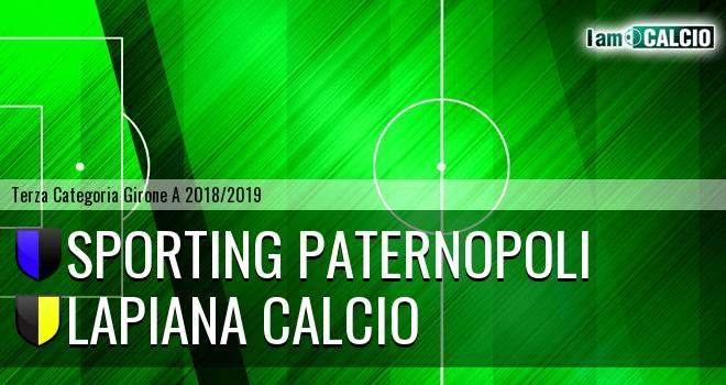 Sporting Paternopoli - Lapiana Calcio