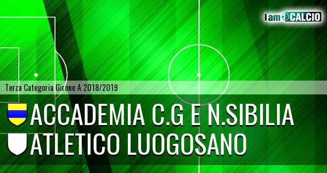 Accademia C.G e N.Sibilia - Atletico Luogosano