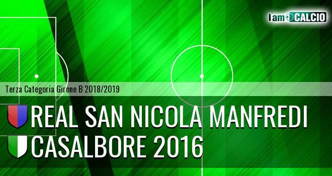 Real San Nicola Manfredi - Casalbore 2016