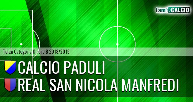 Calcio Paduli - Real San Nicola Manfredi