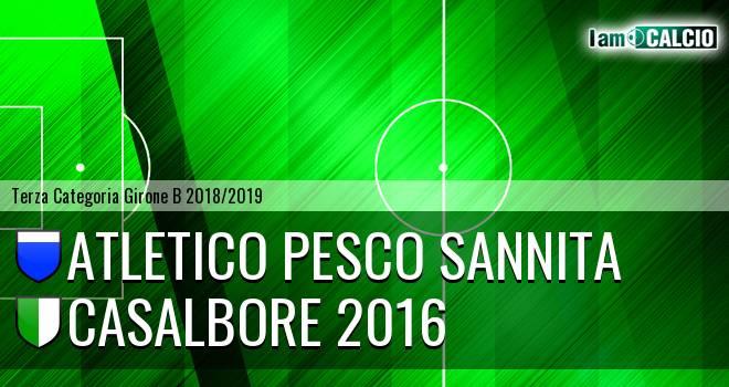 Atletico Pesco Sannita - Casalbore 2016