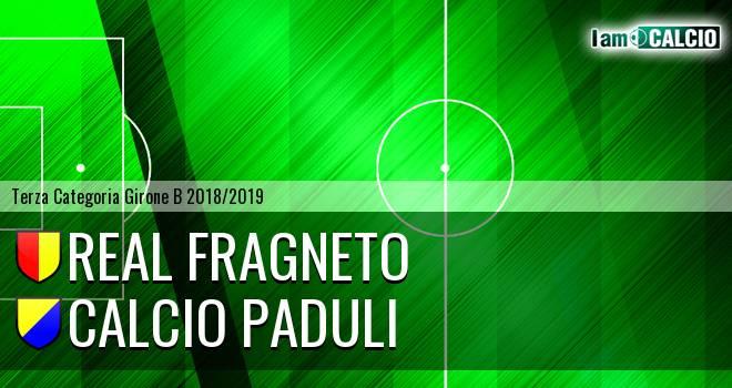 Real Fragneto - Calcio Paduli