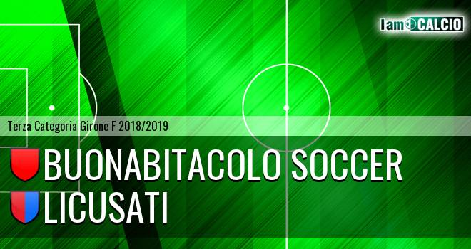 Buonabitacolo Soccer - Licusati
