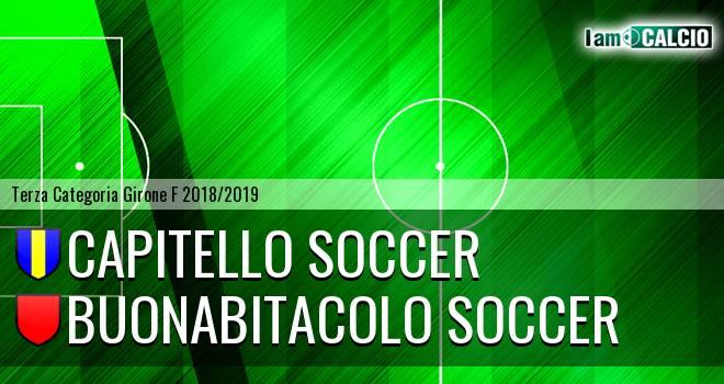 Capitello Soccer - Buonabitacolo Soccer
