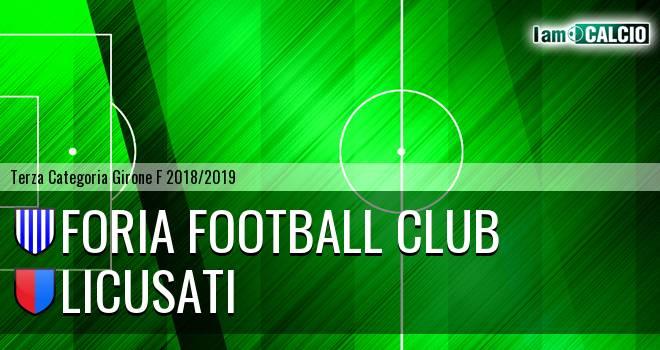Foria Football Club - Licusati