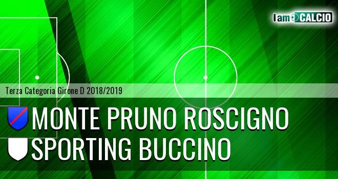 Monte Pruno Roscigno - Sporting Buccino