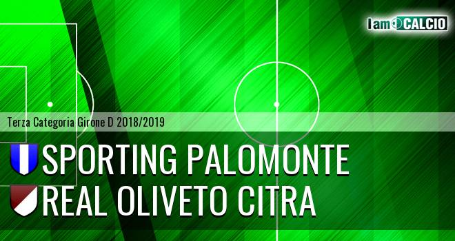 Sporting Palomonte - Real Oliveto Citra