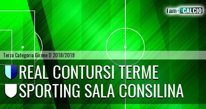 Real Contursi Terme - Sporting Sala Consilina