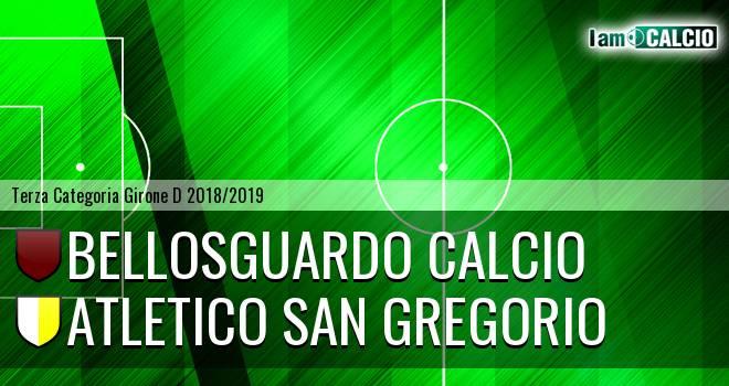 Bellosguardo Calcio - Atletico San Gregorio