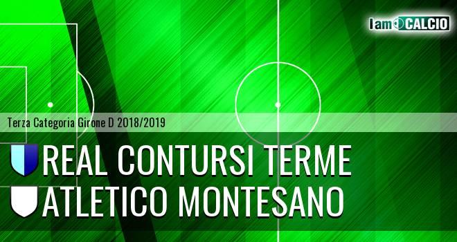 Real Contursi Terme - Atletico Montesano