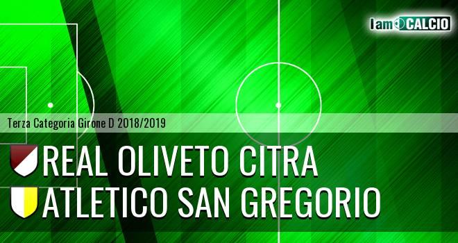Real Oliveto Citra - Atletico San Gregorio