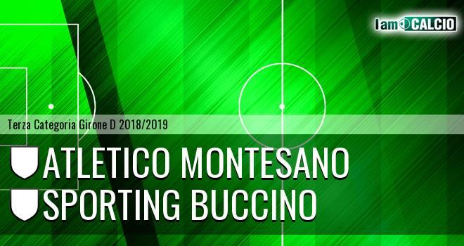 Atletico Montesano - Sporting Buccino