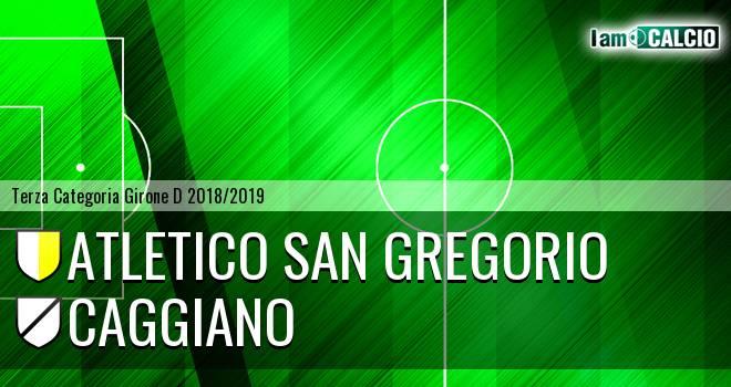 Atletico San Gregorio - Caggiano