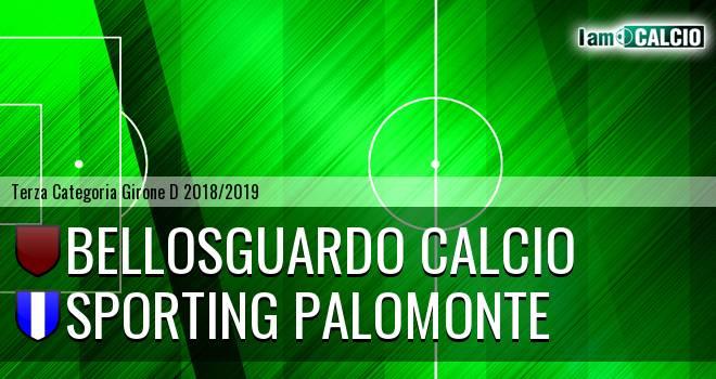Bellosguardo Calcio - Sporting Palomonte