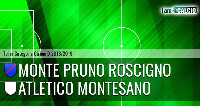Monte Pruno Roscigno - Atletico Montesano