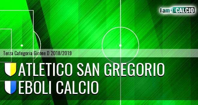 Atletico San Gregorio - Eboli Calcio