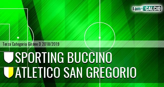 Sporting Buccino - Atletico San Gregorio