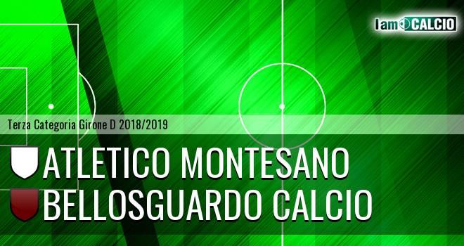 Atletico Montesano - Bellosguardo Calcio
