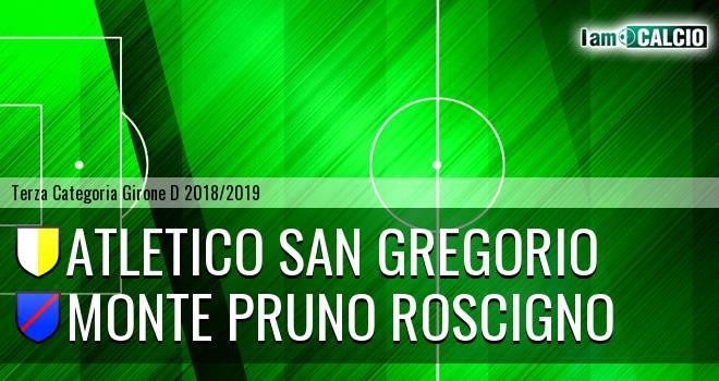Atletico San Gregorio - Monte Pruno Roscigno