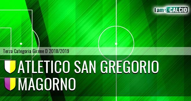 Atletico San Gregorio - Magorno