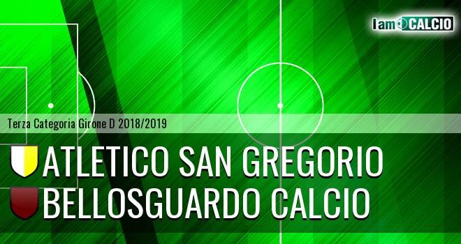 Atletico San Gregorio - Bellosguardo Calcio