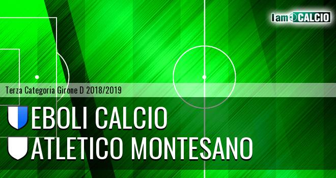 Atletico Eboli - Atletico Montesano