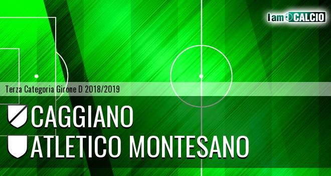 Caggiano - Atletico Montesano