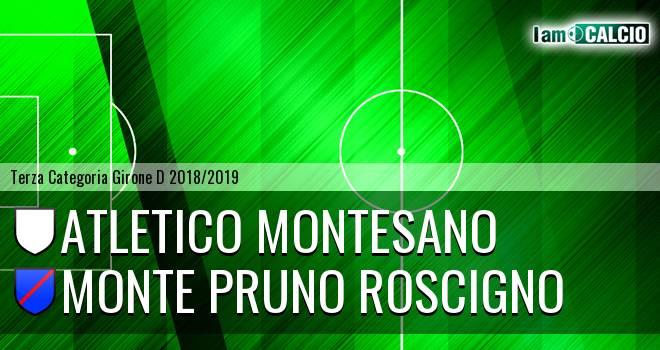 Atletico Montesano - Monte Pruno Roscigno