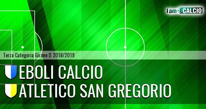 Atletico Eboli - Atletico San Gregorio