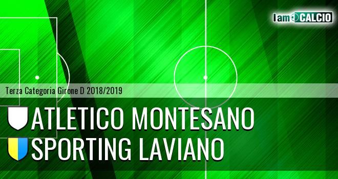 Atletico Montesano - Sporting Laviano