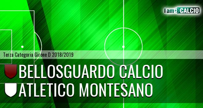 Bellosguardo Calcio - Atletico Montesano