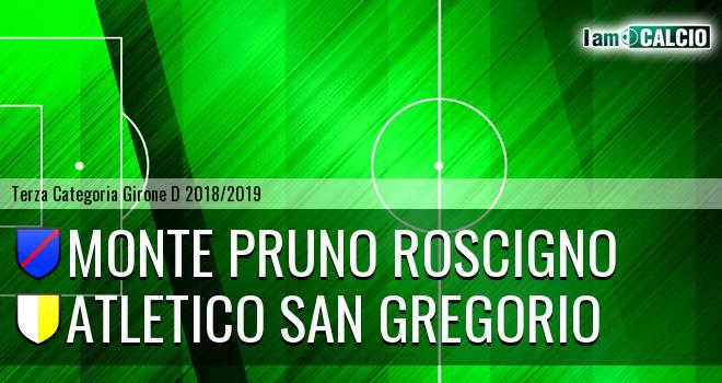 Monte Pruno Roscigno - Atletico San Gregorio