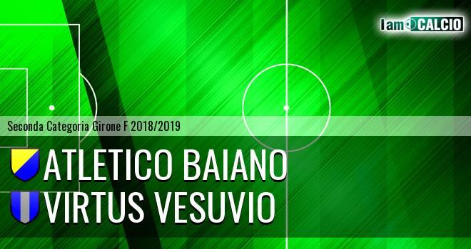 Atletico Baiano - Virtus Vesuvio