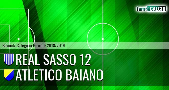 Real Sasso 12 - Atletico Baiano