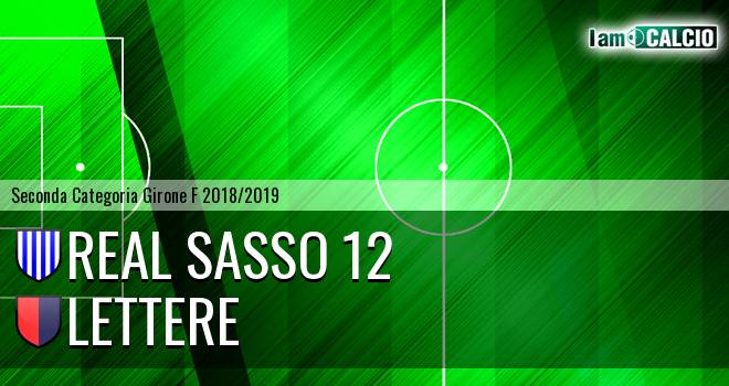 Real Sasso 12 - Lettere