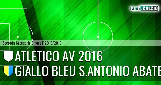 Atletico AV Marzano - Giallo Bleu Gragnano