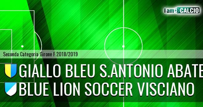Giallo Bleu S.Antonio Abate - Blue Lion Soccer Visciano