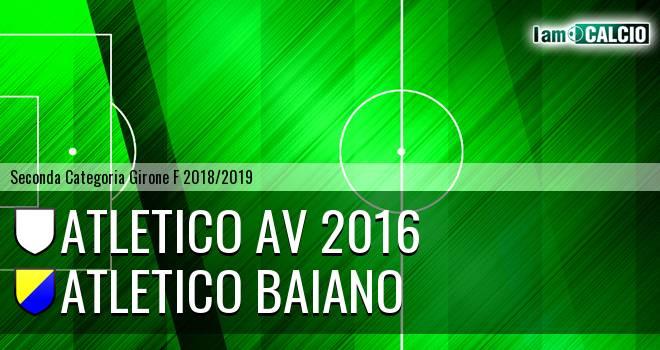 Atletico AV 2016 - Atletico Baiano