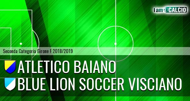 Atletico Baiano - Blue Lion Soccer Visciano