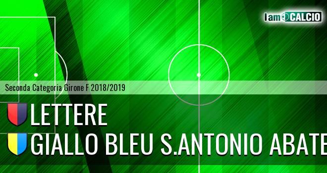 Lettere - Giallo Bleu S.Antonio Abate