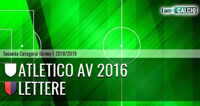 Atletico AV 2016 - Lettere