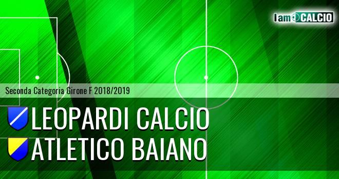Leopardi Calcio - Atletico Baiano